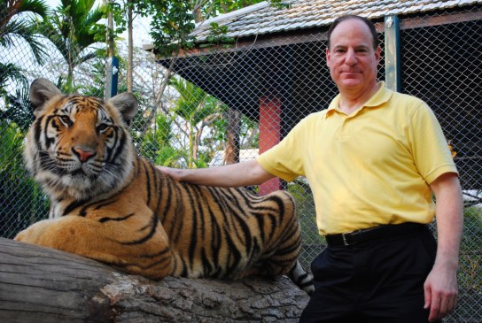 Keith with Tiger