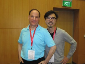 Keith Bennett (Me) with Jason Ong